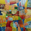 Patchwork painting